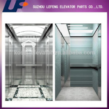 Mirror Hairline Etcing Passenger elevator with Machine Room Less