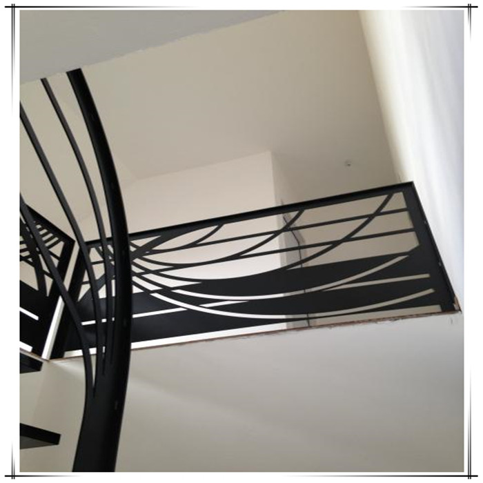 Laser Cut Steel Railings