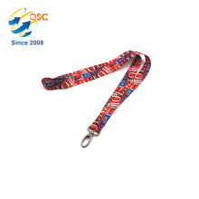 Custom Color Personalized Badge Holder Lanyard