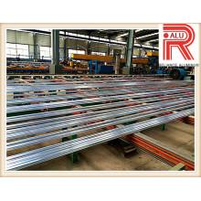 Perfil de aluminio / aleación de aluminio para la sección modular del marco