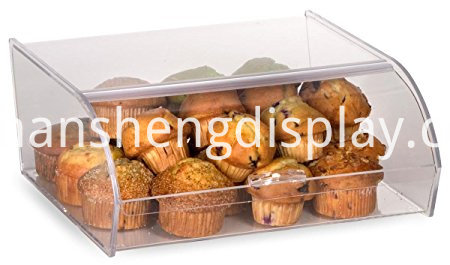acrylic food display bins