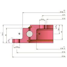 Rollix Light Type Flange Anneau de direction 23 0641 01