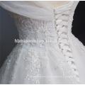 Nupcial A Linha Até O Chão Lace Up Espartilho Organza Vestido De Baile Sem Alças Appliqued Lace Tecido E Vestido De Noiva Chiffon