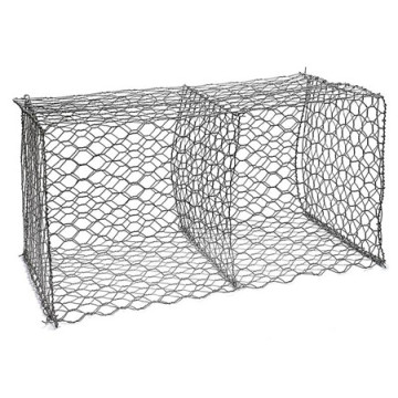 Hexagonal Weaving Retaining Wire Mesh Netting Gabion