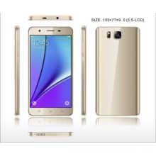 5.5inch HD 1280 * 720, Mtk6580 1.3GHz, Front2.0MP oder 2.0MP intelligentes Telefon