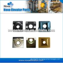 Piezas de recambio de elevador, Clips de riel forjado, T Tipo Clip de riel para elevador