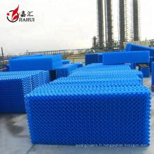 La tour de refroidissement de vague de PVC S remplit la feuille de remplissage de tour de refroidissement de contre-courant de feuille