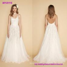 Vestido de boda atractivo cómodo de la venta caliente de la manera
