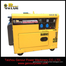 5kva 6kva 3 phase diesel generator low fuel consumption per hour