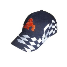 embroidery racing caps and baseball caps