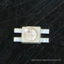 Personalizar RGB SMD LED perlas 6028 soporte antiadherente