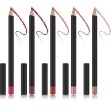 Wholesale waterproof long-lasting private label lip liner matte makeup smoothly lipliner pencil