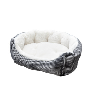 Best quality and factory for Offer Pet Beds,Soft Pet Bed,Round Pet Bed From China Manufacturer Pet Bed Lounge Checkered export to United States Manufacturer