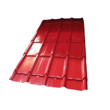 Gute Qualität Galvanisierte glasierte Fliese Stahlblech