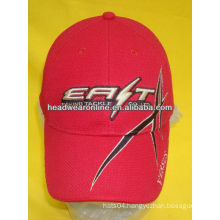 sports caps, polyester caps with embroidery logo