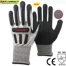 NMSAFETY hand protect anti vibration gloves