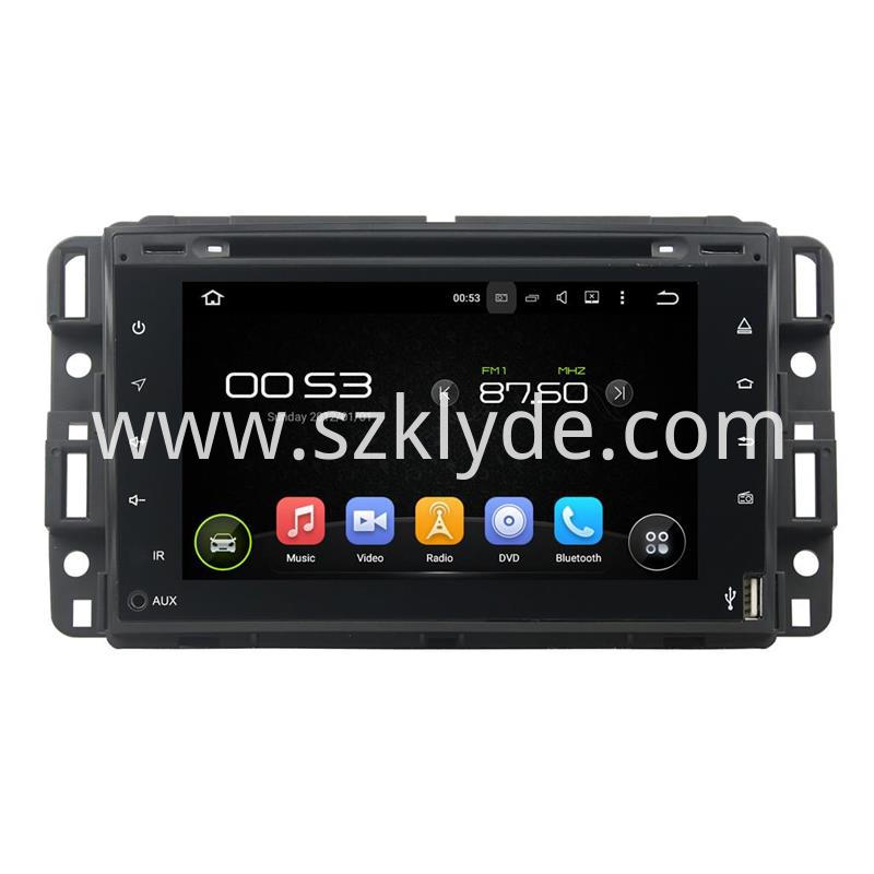GMC Android car multimedia systems (1)