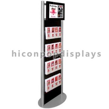 Freie Entwurfs-Fußboden-Standplatz-kundenspezifischer Schmucksache-Einzelverkauf Metall-Einkaufszentrum Interaktiver Schmucksache-Kiosk