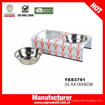 Plástico perro cuenco, perro tabla de cuenco (ye83791)