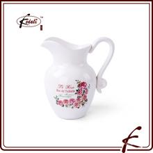 Jarra de cerámica de la flor de la venta caliente