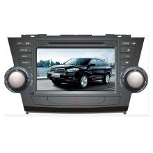 Lecteur DVD de voiture pour Toyota Highlander Android Radio Bluetooth