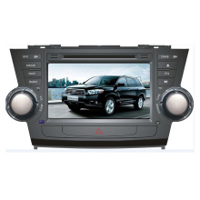 Car DVD Player for Toyota Highlander Android Radio Bluetooth