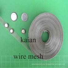 Varios de material Colector de corriente de auriculares en tipo de tejido / tipo expandido / tipo perforado ----- 30 años de fábrica