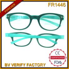 Fr1446 Ultra mince de haute qualité en plastique montures de lunettes de lecture Made in China