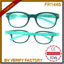 Fr1446 Ultra Thin High Quality Plastic Frames Reading Glasses Made in China