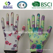 Garden Nitrile Coated Glove Labor Protective Safety Work Gloves