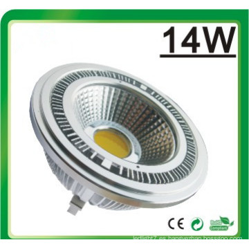 LED de luz LED regulable AR111 LED