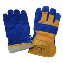 Thinsulate Full Lining Rubberized Cuff Winter Working Safety Gloves