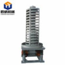 Transportadores de vibração vertical / elevador espiral de refrigeração do parafuso