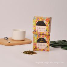 Scented osmanthus Longjing tea bag Osmanthus fragrans green tea combination scented tea
