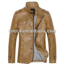 14PUJ8003 мужчины PU куртка