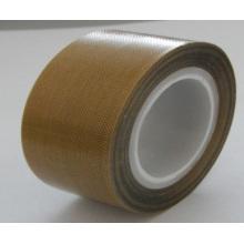 Cinta de PTFE Cinta de teflón Cinta adhesiva de fibra de vidrio para sellado caliente 0,13 mm