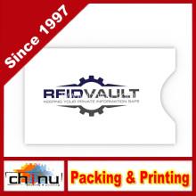 Manguitos de bloqueo RFID - Juego de manguitos RFID (12 Protector de tarjeta de crédito RFID y 2 mangas RFID de pasaporte) (420004-6)