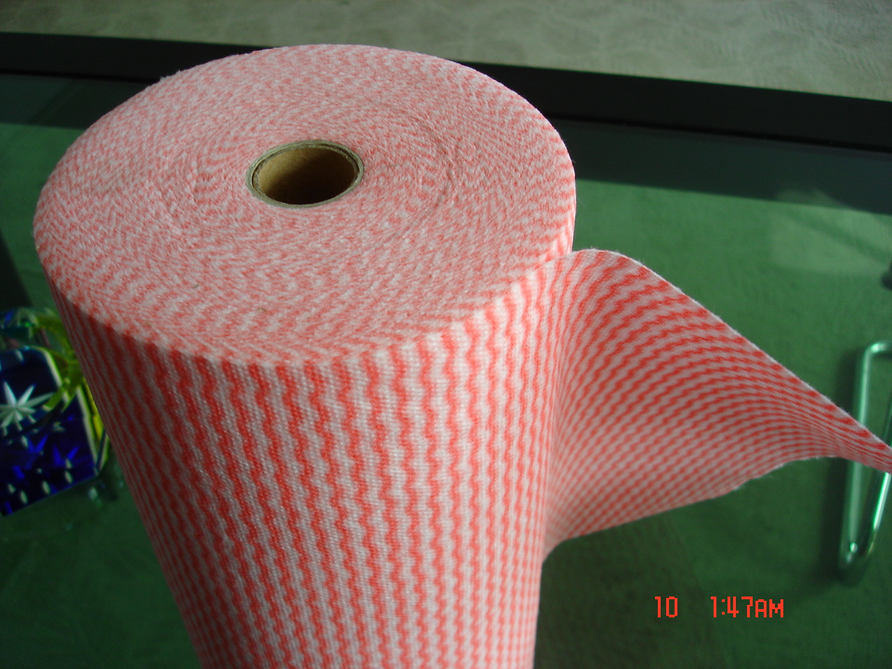 perferated rolls spunlace nonwoven wipes