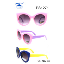 Newest Trendy Round Frame Cat Children Sunglasses (PS1271)