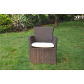 All weather garden PE rattan dining set
