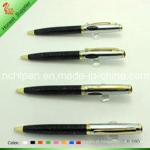 Novidade em couro Decorativa Bolígrafo Presentes para presentes