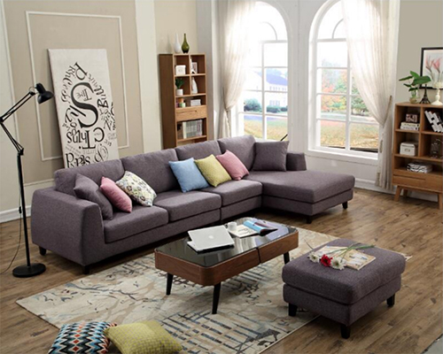 Fabric Daybed Sectional Sofa