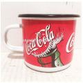 high quality Customized Printed Enamel coffee mug Coca
