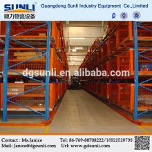 China fornecedor corredor estreito armazém armazenamento porta palete