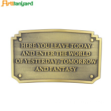 New Fashion Design for for Custom Belt Buckles Men's Belts Buckle With Custom Plating supply to Germany Factories