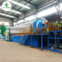 The Latest Technology Continuous Waste Tire Recycling Machine With 10 Years Guarantee