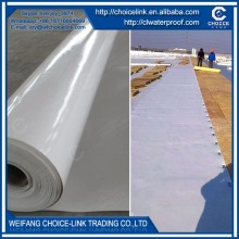 roof material homogeneous TPO waterproof membrane