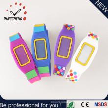 New Style Armbanduhr Silikon LED Uhr für Promotion (DC-0469)