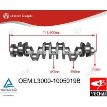 Yuchai YC6L Crankshaft L3000-1005019B