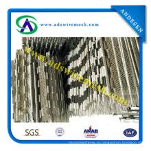 Correias transportadoras de aço inoxidável / rede de arame de aço inoxidável
